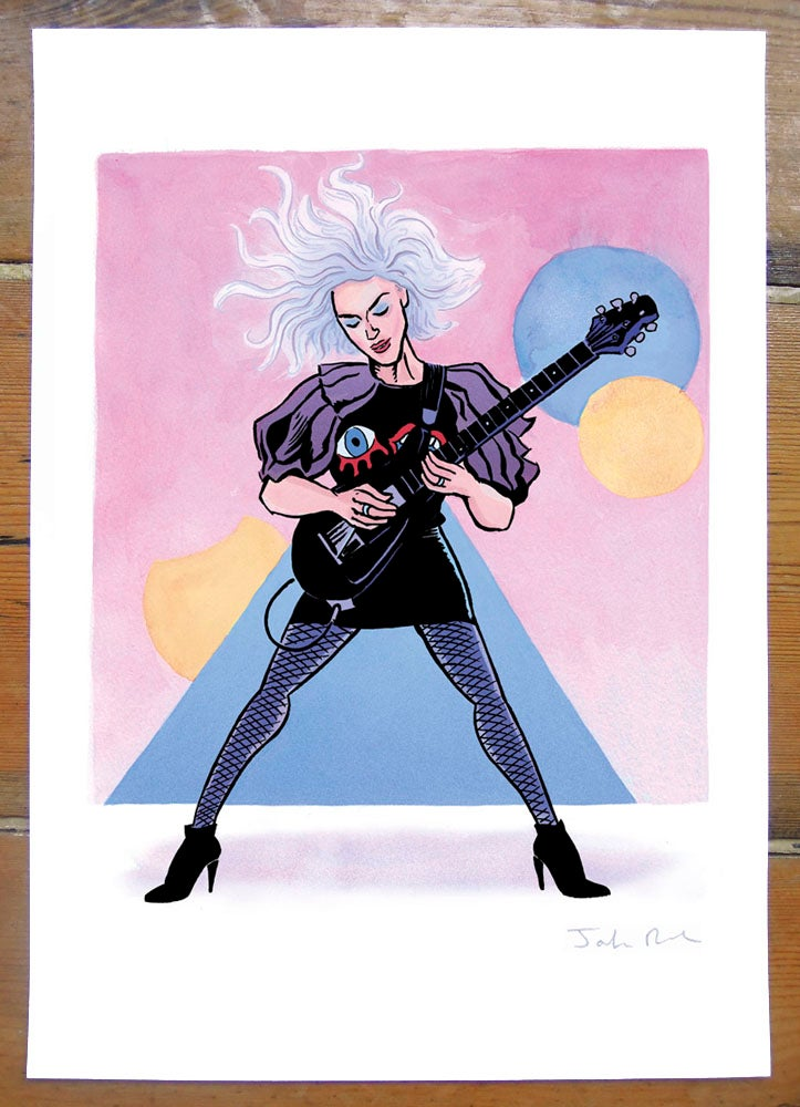 Image of St. Vincent - Sound and Vision print