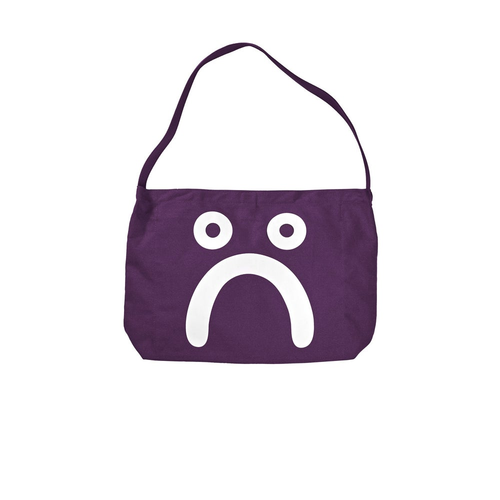 Image of POLAR HAPPY SAD TOTE PRUNE