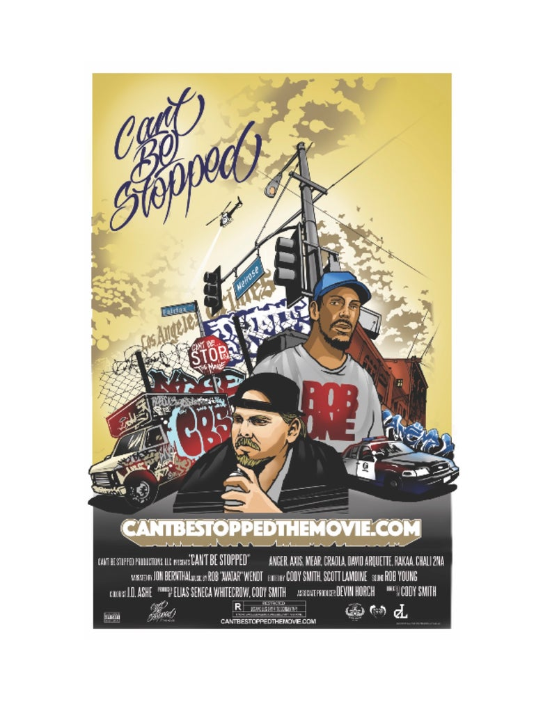 "Image of ""Can't Be Stopped"" Movie poster"