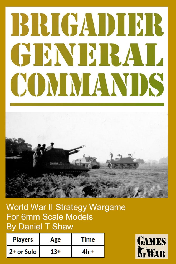 Image of Brigadier General Commands Rules
