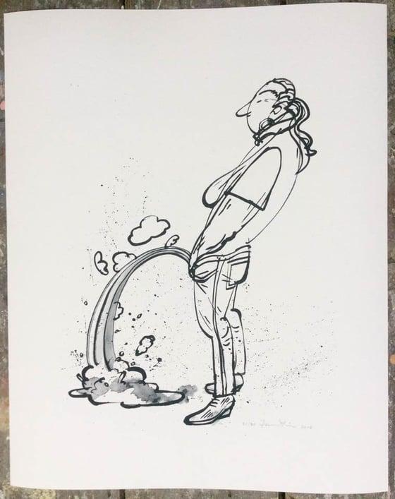 """Image of Uden titel (""""regnbue"""", Gicleé-print 2016)"""