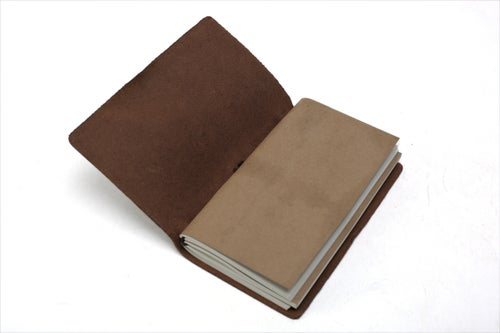 Image of Handmade Leather Journal, Journals for Men, Leather Notebook, Rustic Leather Diary 00002