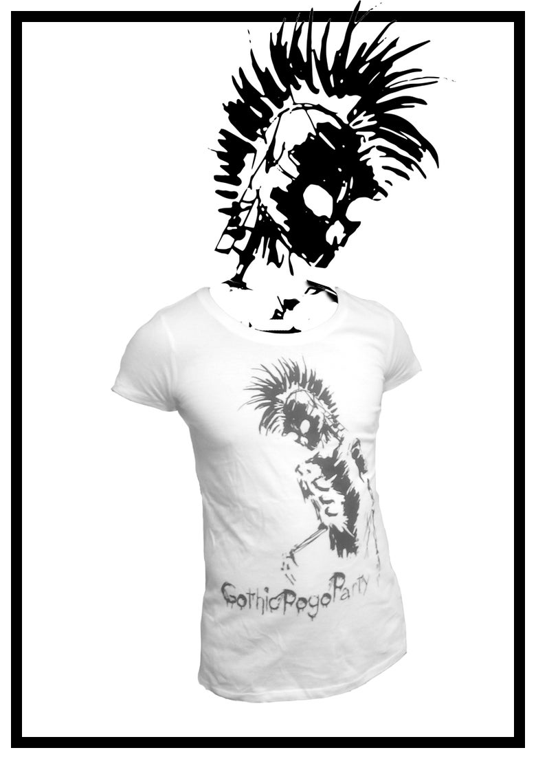 "Image of T-Shirt ""Skelett invers"""