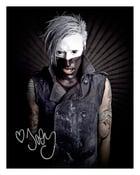 "Image of Joe Letz autographed ""stage makeup"" pic"
