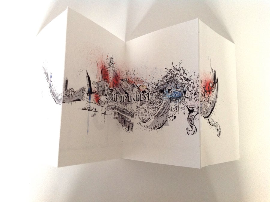 Image of Double Sided Fold Out Print!