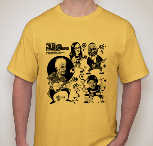 The Young Philadelphians - T Shirt MENS YELLOW