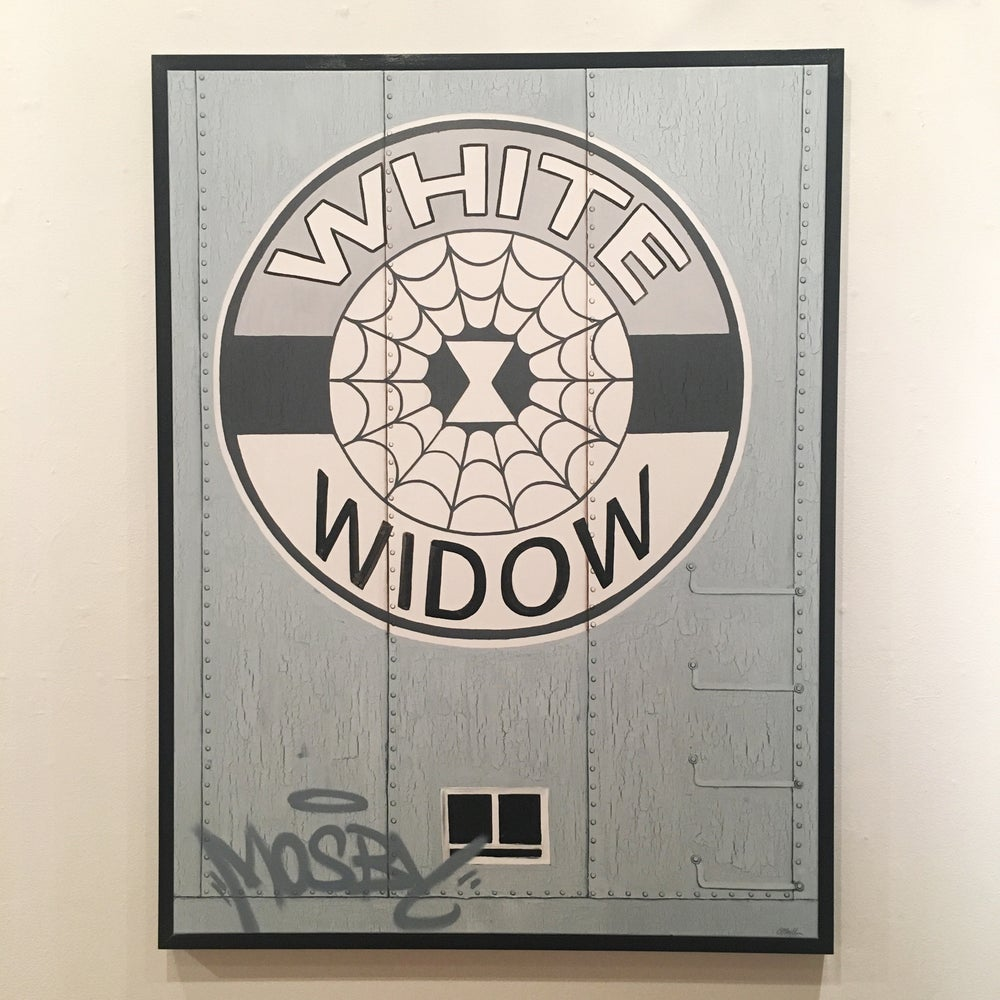 "Image of JAMIE O'NEILL - ""WHITE WIDOW"""