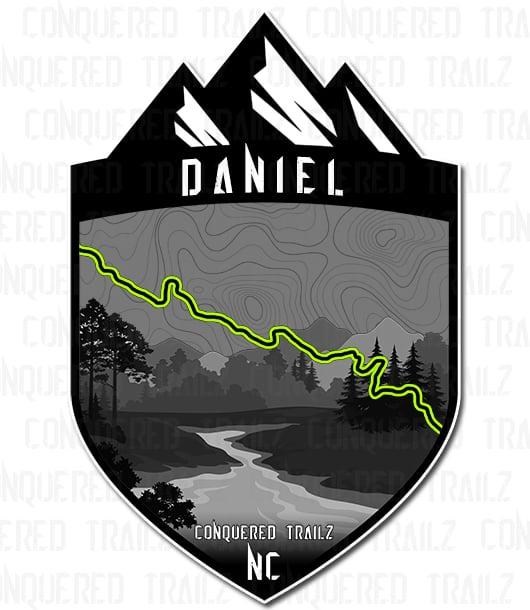 "Image of ""Daniel"" Trail Badge"
