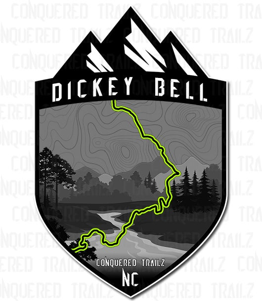 "Image of ""Dickey Bell"" Trail Badge"