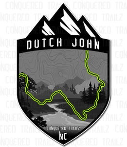 "Image of ""Dutch John"" Trail Badge"