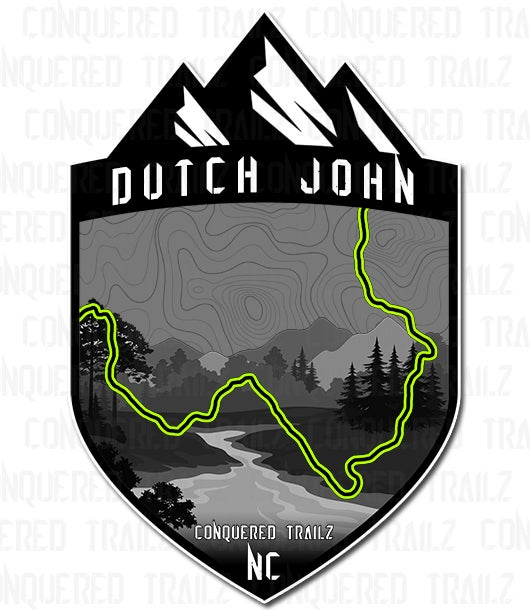 "Image of ""Dutch John"" Trail Badge"