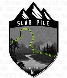 "Image of ""Slab Pile"" Trail Badge"