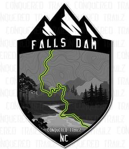 """Image of """"Falls Dam"""" Trail Badge"""