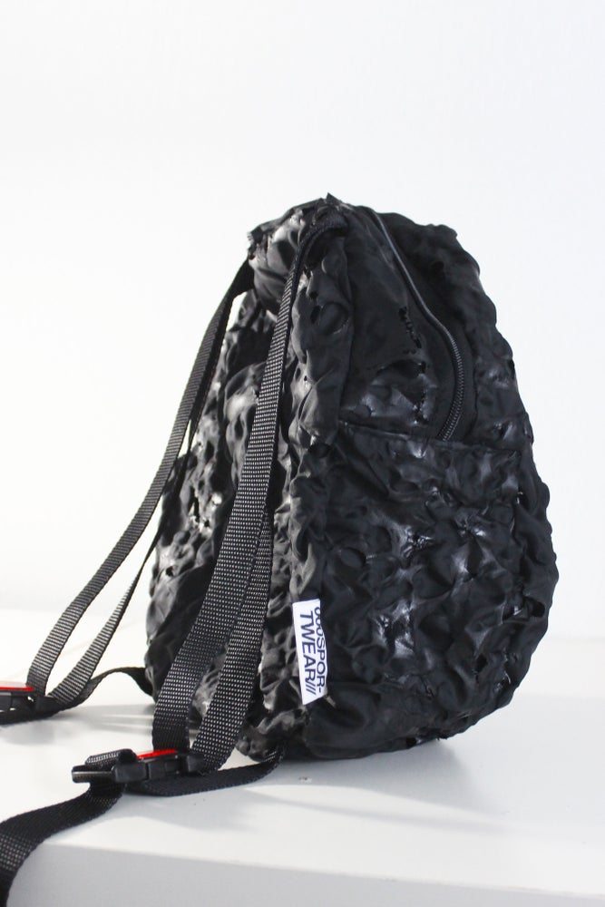 Image of ZAM TEXTURED NYLON BACKPACK