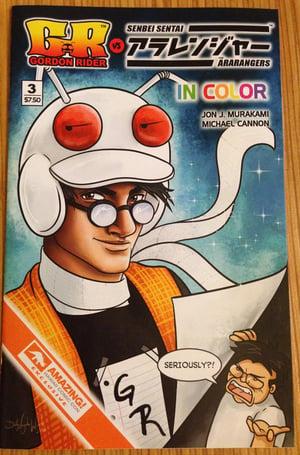 Gordon Rider vs The Ara-Rangers #3