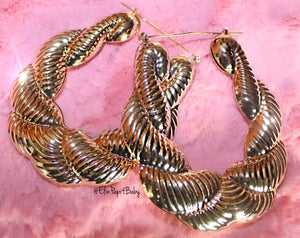 Image of Jennifer Bamboo Hoops