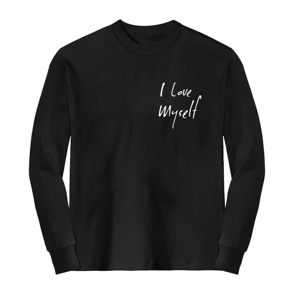 Image of Black I Love Myself Long Sleeve