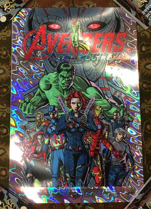 Image of Avengers: Age of Ultron • Limited Lava Foil Edition