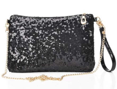 Image of Louise Sequin Clutch