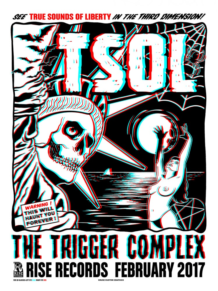 Image of TSOL 3D Poster w/ glasses