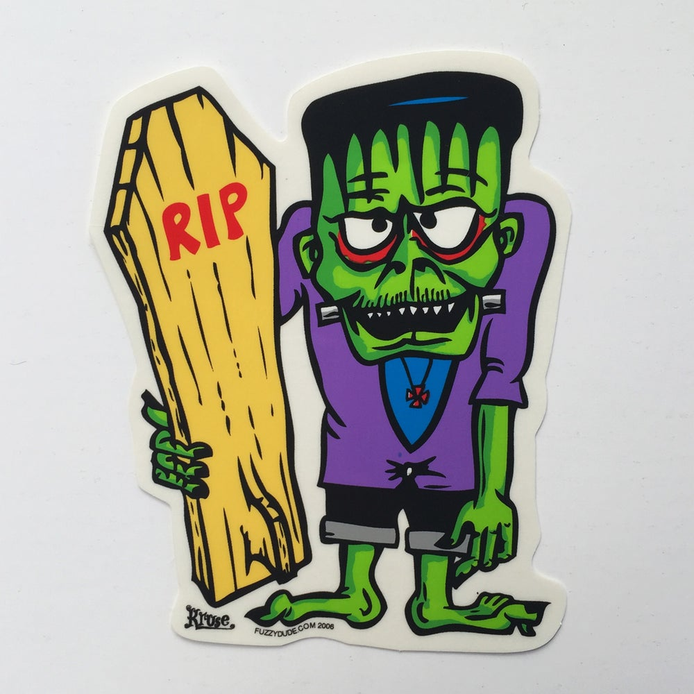Image of Frank E. Stein Sticker