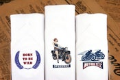 Image of Men's Handkerchiefs Motorbikes