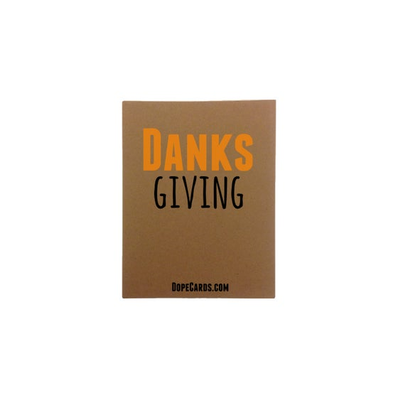 Image of Danks giving (4 cards)