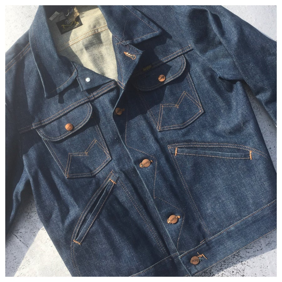 Image of VINTAGE Unisex 70s Denim Jacket