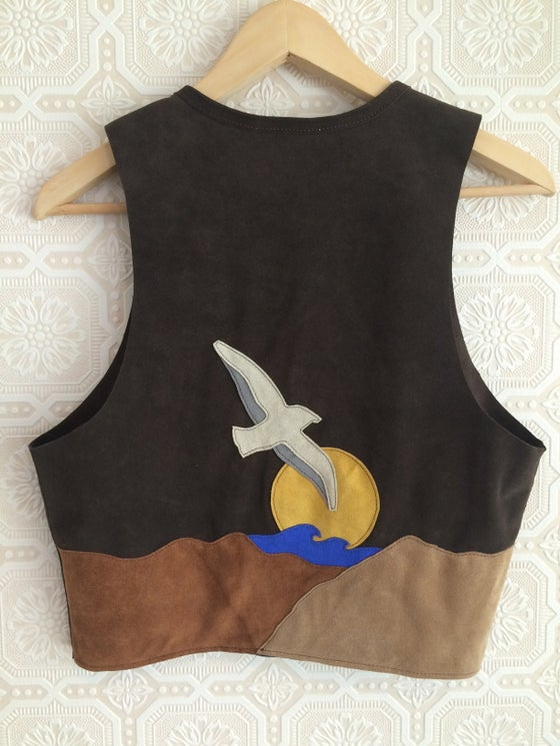 Image of COSTA SUR- Women's Canyon Suede Vest