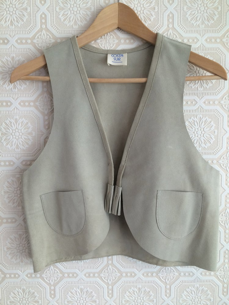 Image of COSTA SUR- Women's Playa Suede Vest