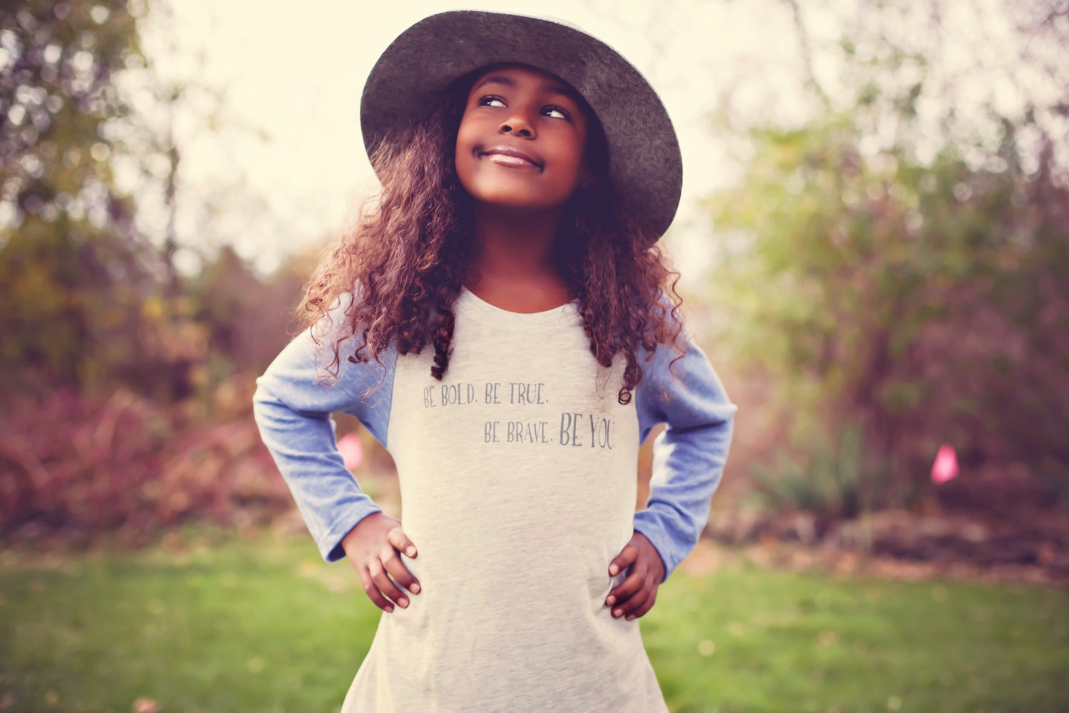 Image of Be You baseball tee