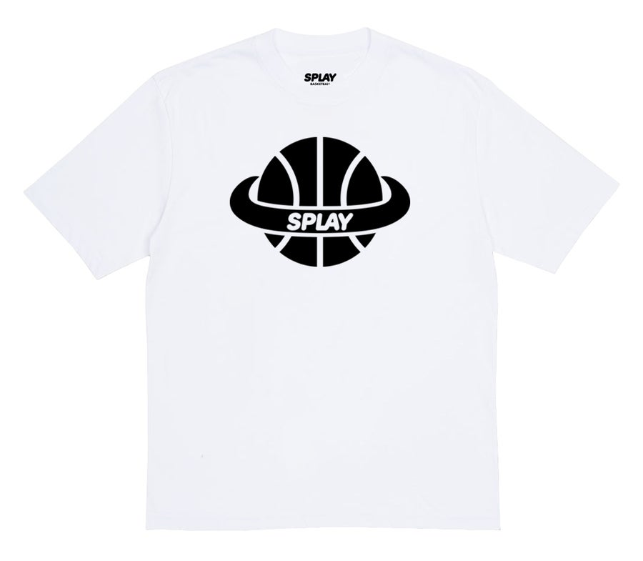 Image of SPLAY TEE - WHITE