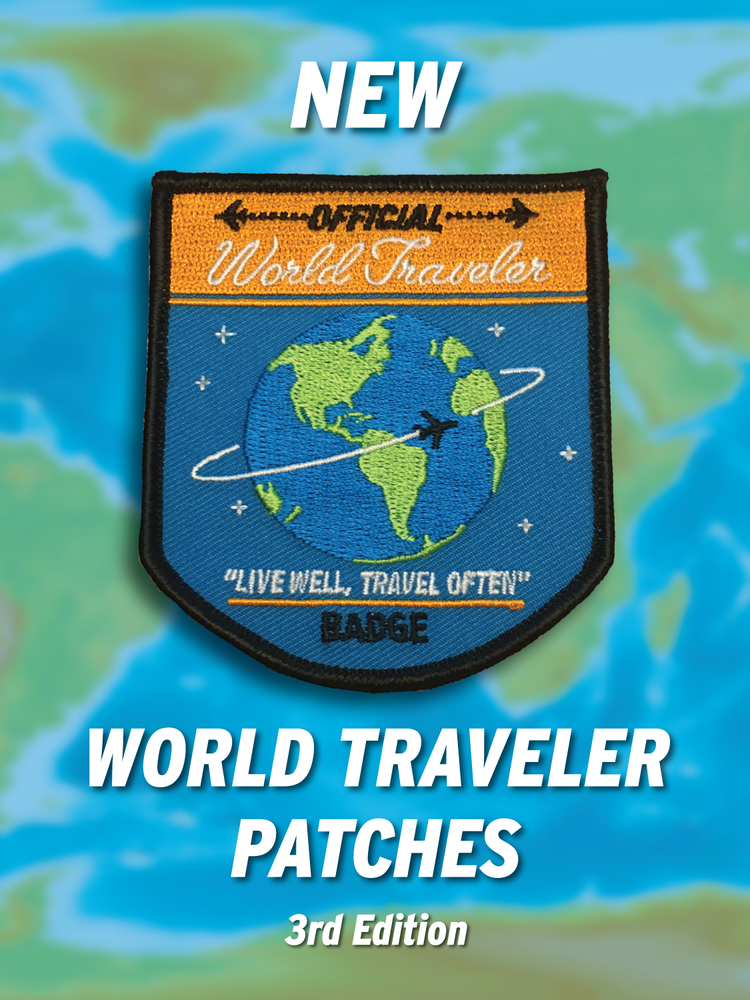 Image of World Traveler Patch - 3rd Edition