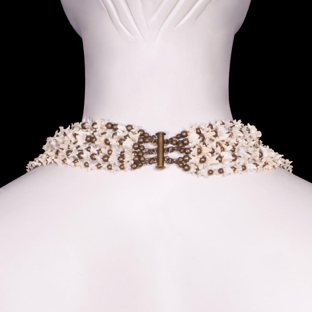 Image of Six Strand Snake Vertebrae Necklace
