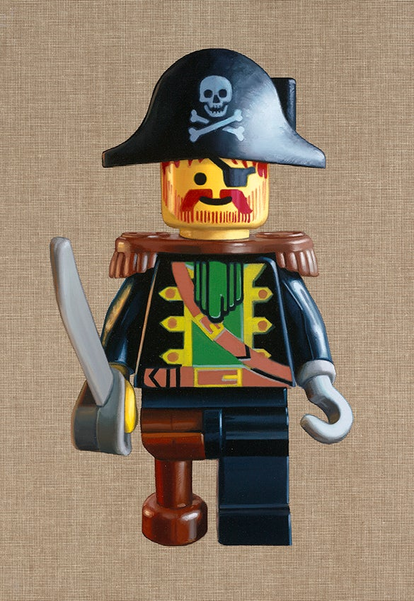 Image of Captain Redbeard // Limited Edition Print