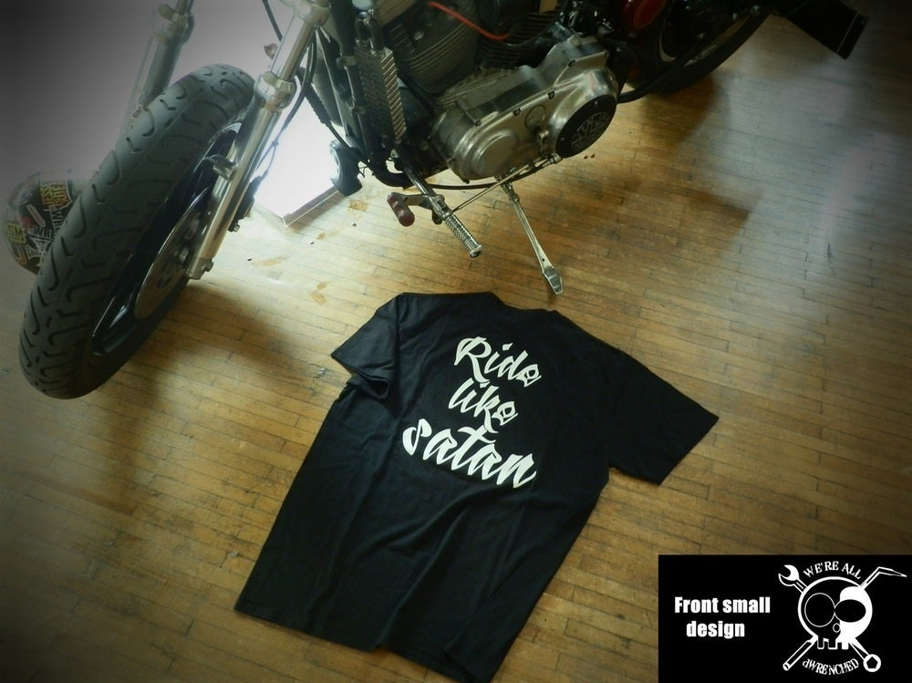 Image of Ride like Satan shirt