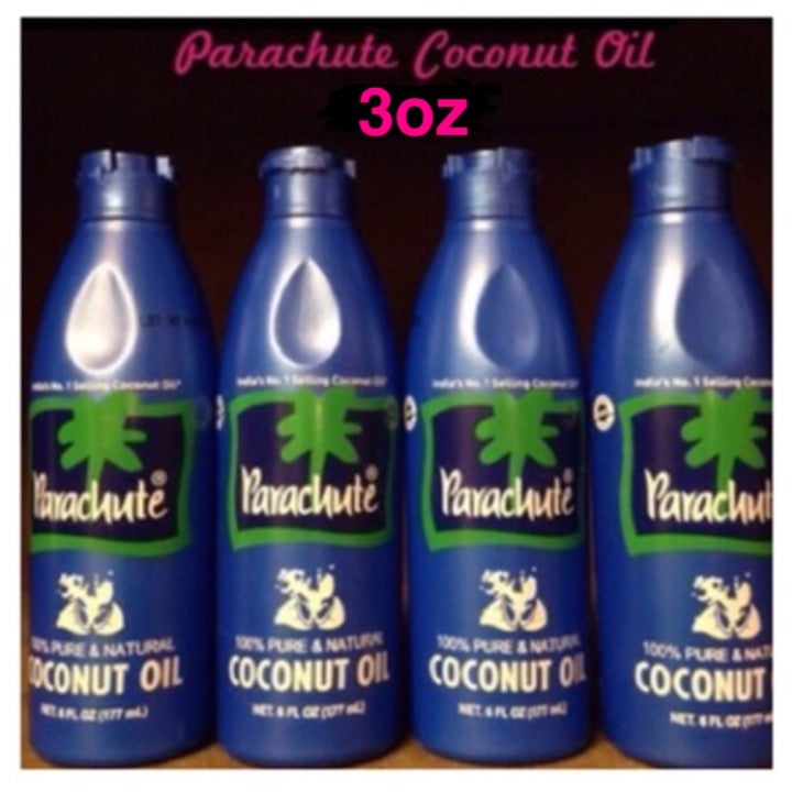 Image of Parachute Coconut Oil (Four 3oz bottles)
