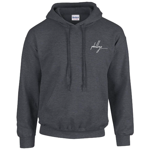 Image of philleys - Logo Hoodie Grey