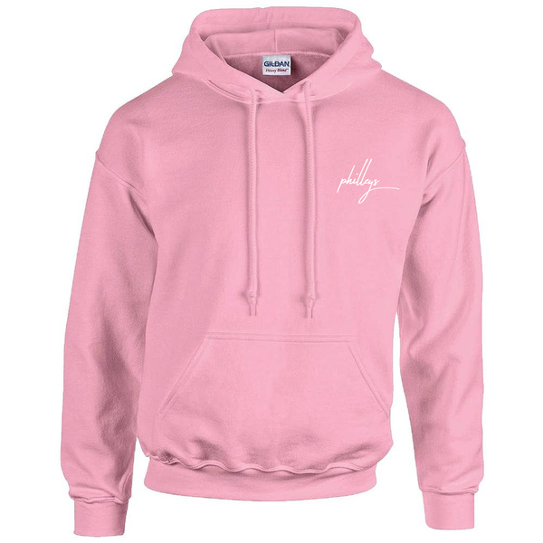Image of philleys - Logo Hoodie Pink