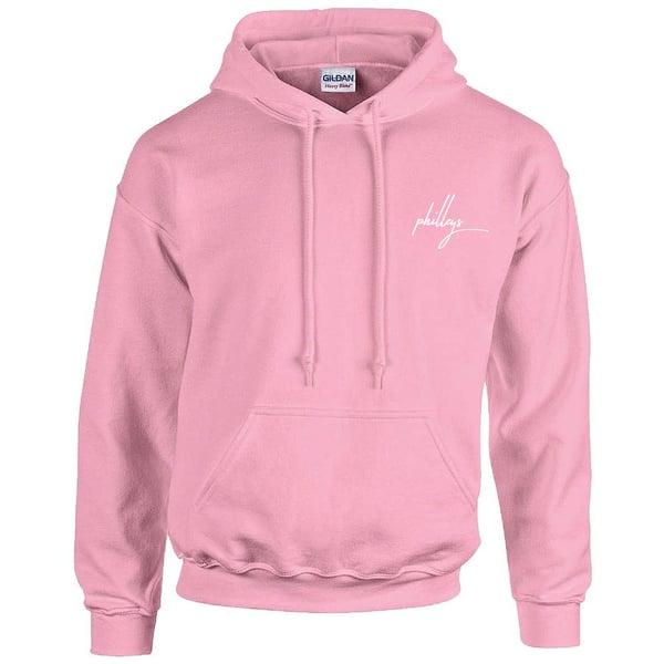Image of philleys - Logo Hoodie Pink