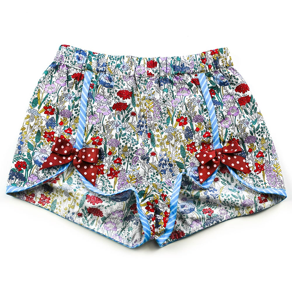 Image of Polly Vintage Bow Shorts  - Mayfair