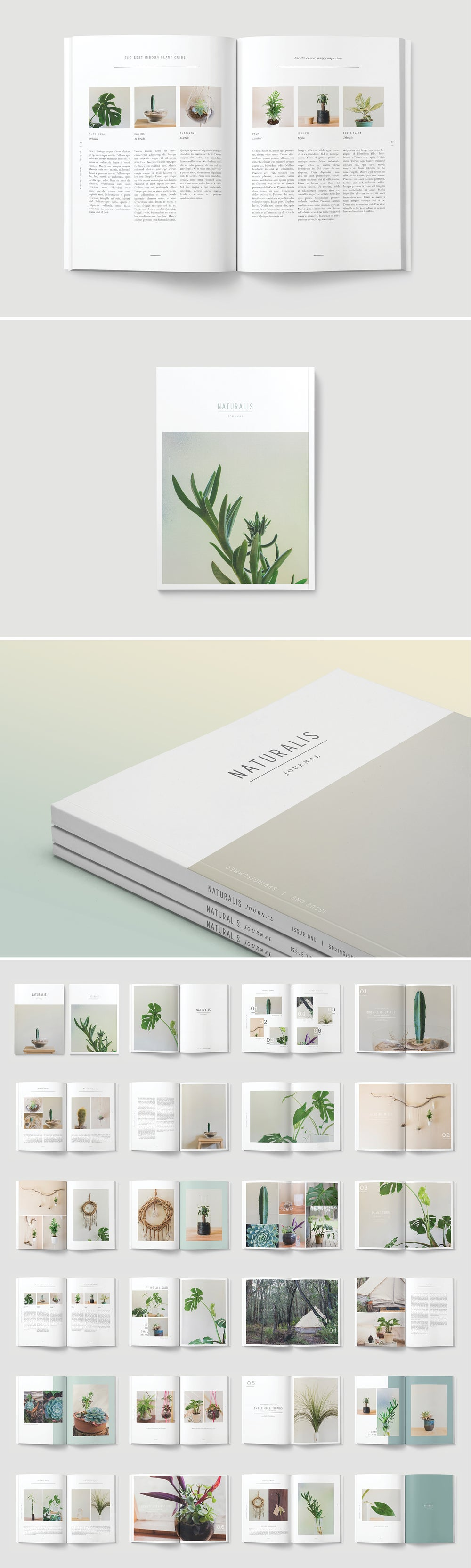 Image of NATURALIS Lookbook / Magazine