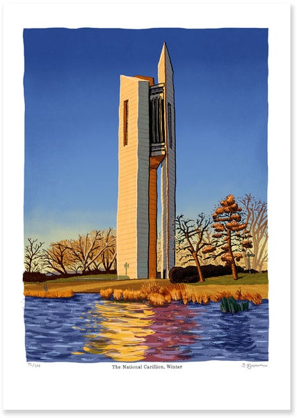 Image of National Carillon Sunrise