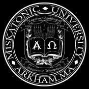 Image of Miskatonic University T-shirt