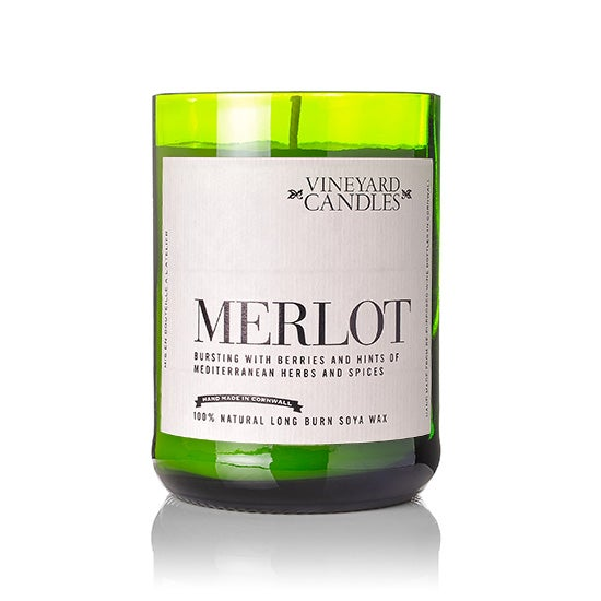 Image of Merlot Handmade Soya Candle in Gift Box