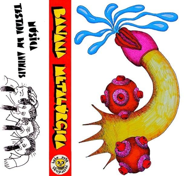 Image of Banana Metalúrgica - Música testada em animais - by001 - cassette