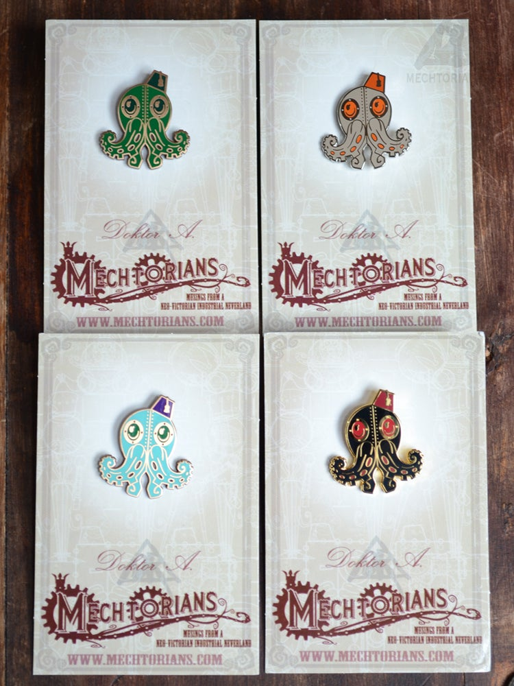 Image of Mechtorian Enamelled Pin Badges *FREE SHIPPING*