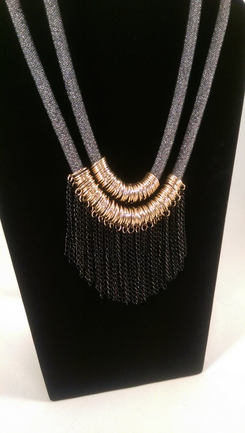 Image of Chain Mesh Necklace