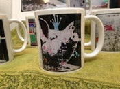 Image of Mug - Pigs: Green, Blue or Yellow Crown