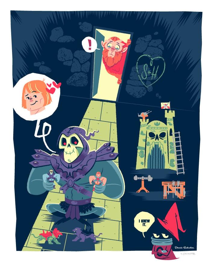 Image of Skeletor's Secret